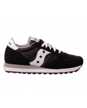 Saucony Jazz Original Scarpa Unisex Adulto - Black/White