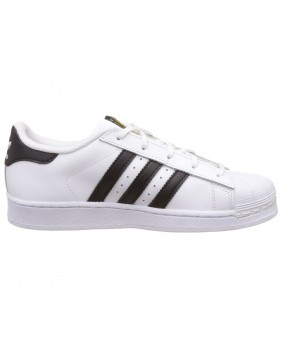 Adidas Originals Superstar C Scarpe Unisex Bambino - White/Black