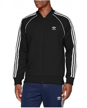 Adidas Originals SST TT Felpa Zip Uomo - Black