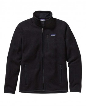 Patagonia M'S Better Sweater Jkt Pile Uomo - Black