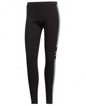 Adidas Originals Trefoil Tight Micro Logo Leggings Donna - Black