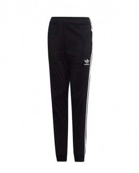 Adidas Originals Superstar Pants Pantaloni Unisex Bambino - Black
