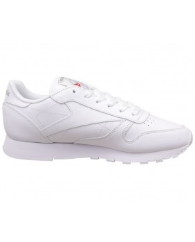 Reebok Classic Leather Scarpa Unisex Adulto - White