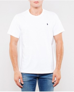 Ralph Lauren S/S Crew-Sleep Top T-Shirt Uomo - White