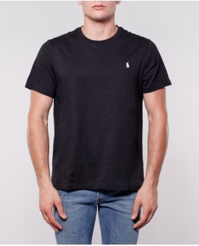 Ralph Lauren S/S Crew-Sleep Top T-Shirt Uomo - Black