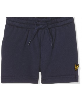 Lyle & Scott Classic Sweat Short Bermuda Bambino - Navy