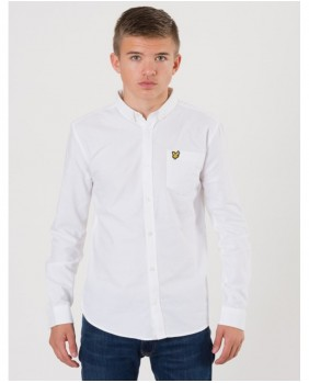 Lyle & Scott Oxford Shirts Camicia Bambino - White