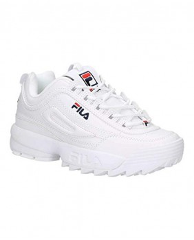 Fila W Disruptor Low Scarpa Donna - White