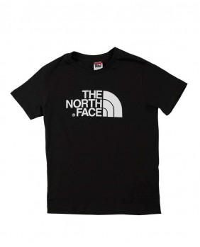 The North Face Y S/S Easy Tee Bambino - Black