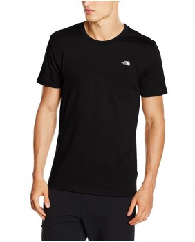 The North Face M S/S Red Box Tee Uomo - Black