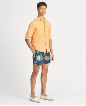 Ralph Lauren Traveler Swim Costume Uomo - 001