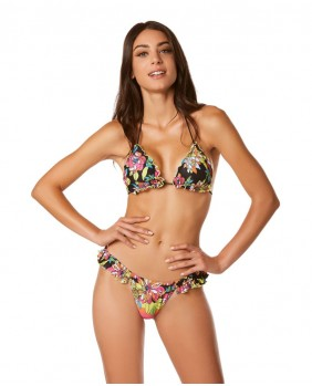 Triangolo Flowers Costume Mare Donna - Pop Volant