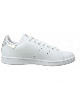 Adidas Originals Stan Smith J Scarpa Ragazza - White/Silver