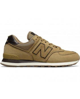 New Balance 574 Scarpa Uomo - Tan