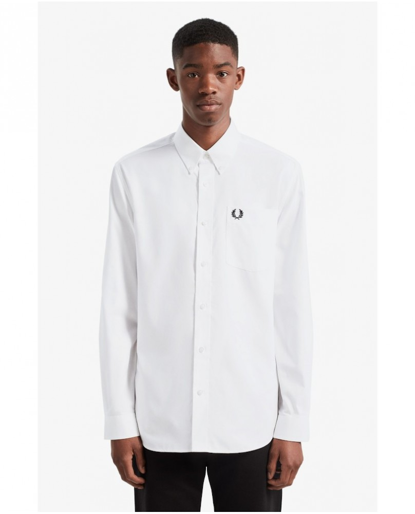 Fred Perry Oxford Shirt Camicia Uomo - 100