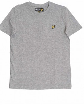 Lyle & Scott Classic T-Shirt Bambino - Grey