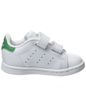 Adidas Originals Stan Smith CF I Scarpa Unisex Bambino - White/Green