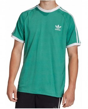 Adidas Originals 3 Stripes Tee T-Shirt Uomo - Hydro