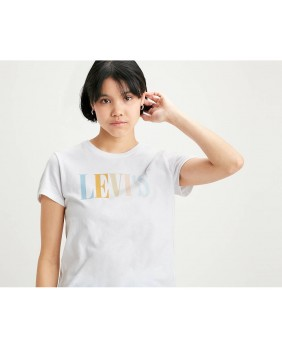 W The Perfect Tee 90s T-Shirt Donna - 0969
