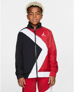 Wings Sideline Jacket Felpa Zip Bambino - Red