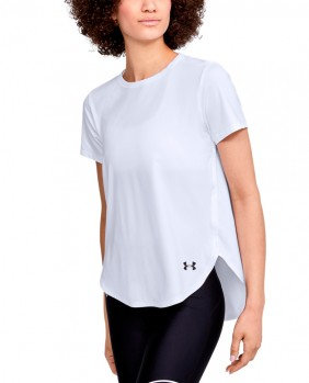 W Sport Crossback SS T-Shirt Donna - White