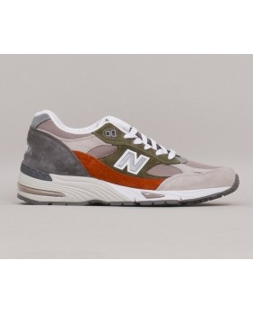 991 Scarpa Uomo - Green/Orange