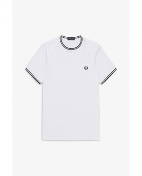 Twin Tipped T-Shirt Uomo - White