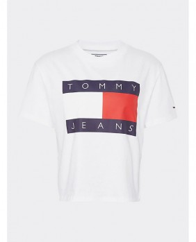 W Tommy Flag Tee T-Shirt...