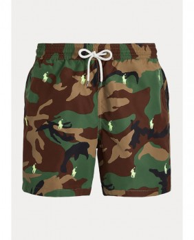Traveler Swim Costume Uomo - Camo