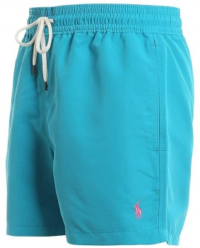 Slim Traveler Swim Costume Uomo - Light Blue