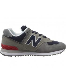 574 Scarpa Uomo - Grey/Navy