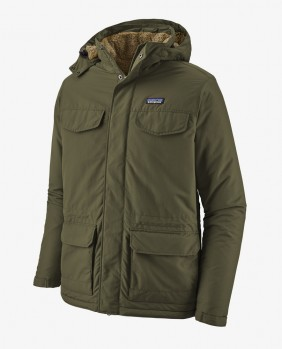 M'S Isthmus Parka Giacca Uomo - Green