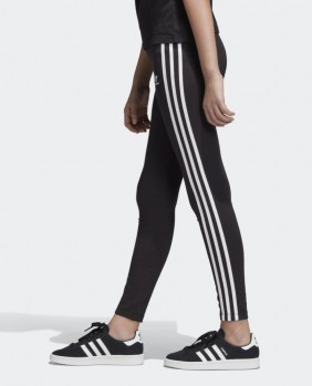Leggings 3-Stripes Bambina - Black