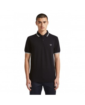 Polo Twin Tipped Uomo - Nero
