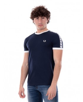 T-Shirt Taped Ringer Uomo -...