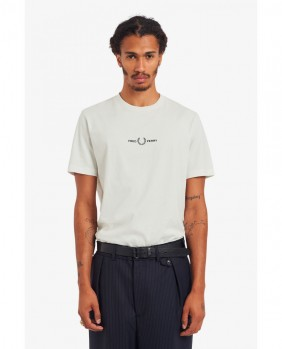 Embroidered T-Shirt Uomo -...