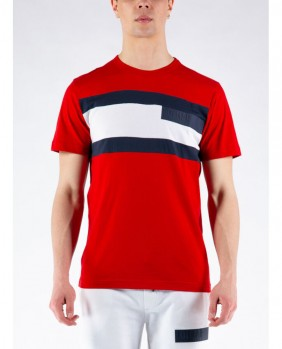 T-Shirt Colorblock In...