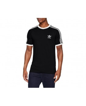 Adidas Originals 3 Stripes Tee T-Shirt Uomo - Black